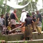 Cremation ceremony in Lombok, last arrangements