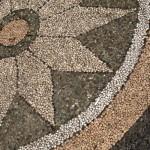 pebble path