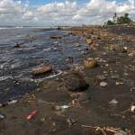 Pantai Saba, beach where black pebbles come from